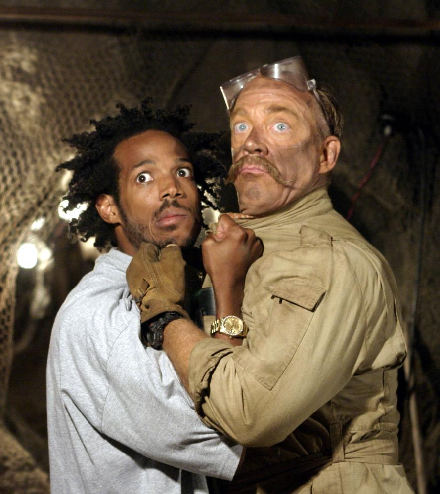 THE LADYKILLERS, Marlon Wayans, J.K. Simmons, 2004, (c) Touchstone