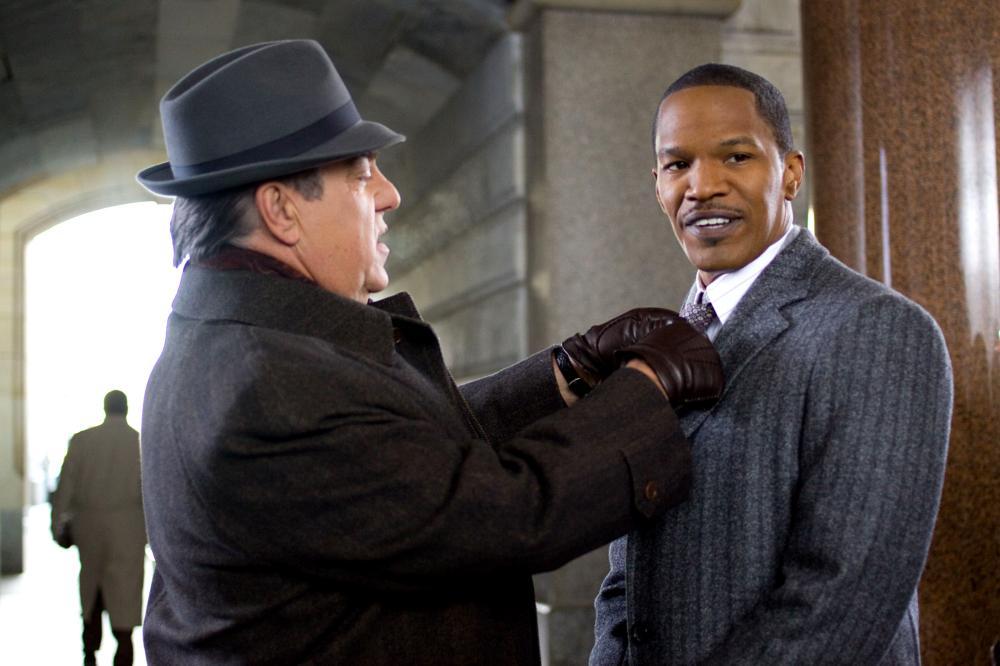 LAW ABIDING CITIZEN, from left: Bruce McGill, Jamie Foxx, 2009. ph: John Baer/©Overture Films
