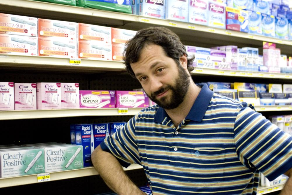 KNOCKED UP, director Judd Apatow, on set, 2007. ©Universal Pictures
