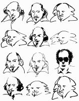 KING LEAR, William Shakespeare, Jean-Luc Godard (second from bottom extreme right), 1987, (c) Cannon Films