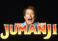 JUMANJI, Robin Williams, 1995, (c) Columbia