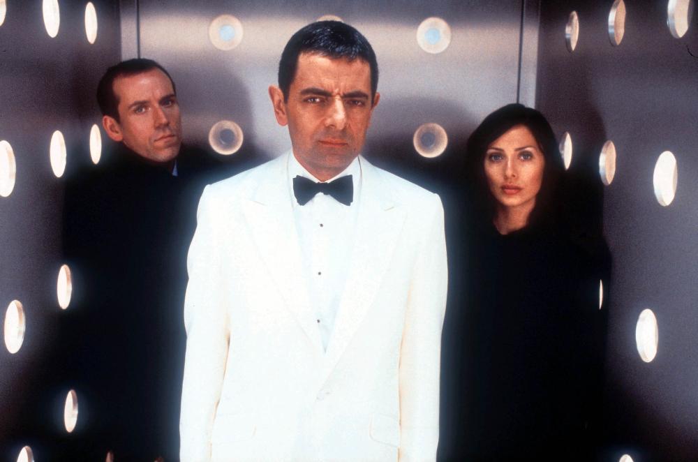 JOHNNY ENGLISH, Ben Miller, Rowan Atkinson, Natalie Imbruglia, 2003, (c) Universal