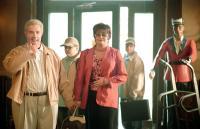 JIMINY GLICK IN LA LA WOOD, Martin Short, Landon Hansen, Jan Hooks, Jake Hoffman, 2005, (c) MGM