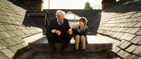 IS ANYBODY THERE?, from left: Michael Caine, Bill Milner, 2008. Ph: Nick Wall/©Big Beach Films