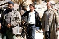 IRON MAN, Robert Downey Jr. (center), Shaun Toub (right), 2008. ©Paramount