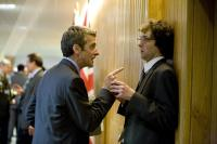 IN THE LOOP, foreground from left: Peter Capaldi, Chris Addison, 2009. ©IFC Films