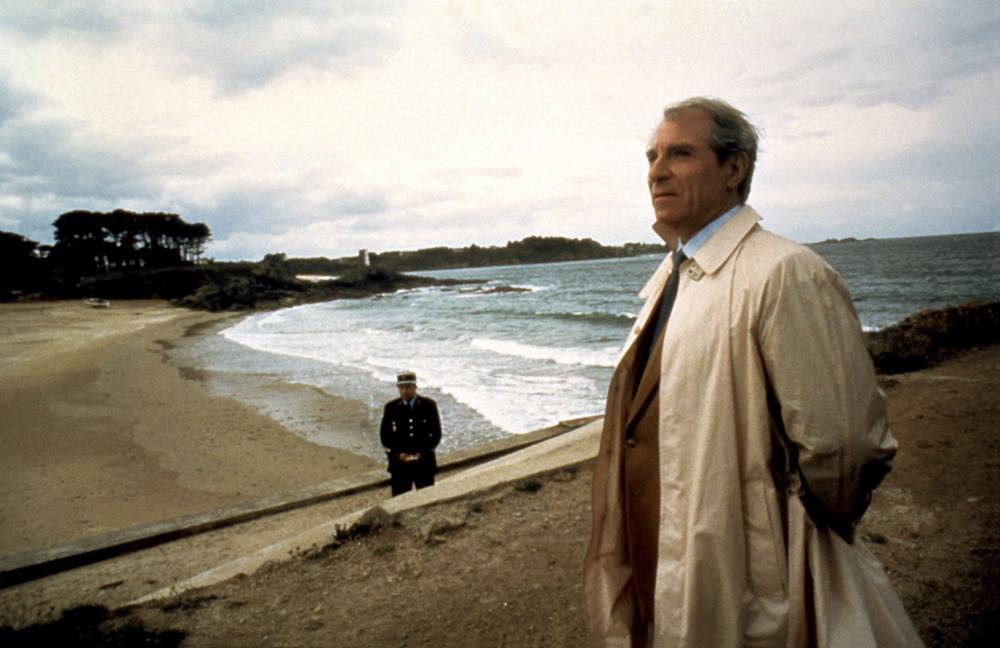 INSPECTEUR LAVARDIN, Jean Poiret (right), 1986. ©MK2 Diffusion