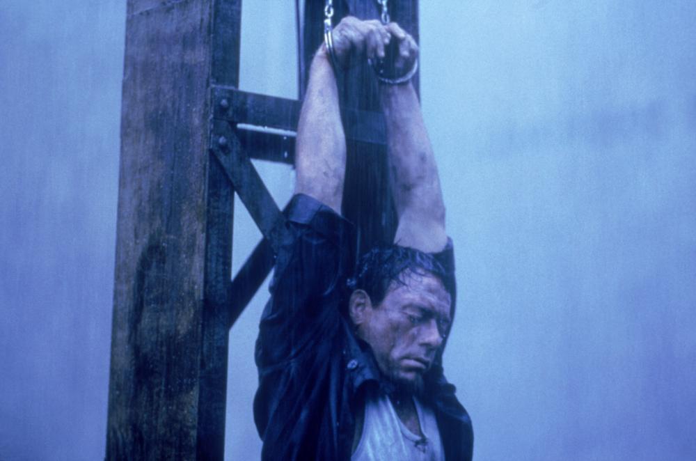 IN HELL, (aka THE SAVAGE), Jean-Claude Van Damme, 2003.