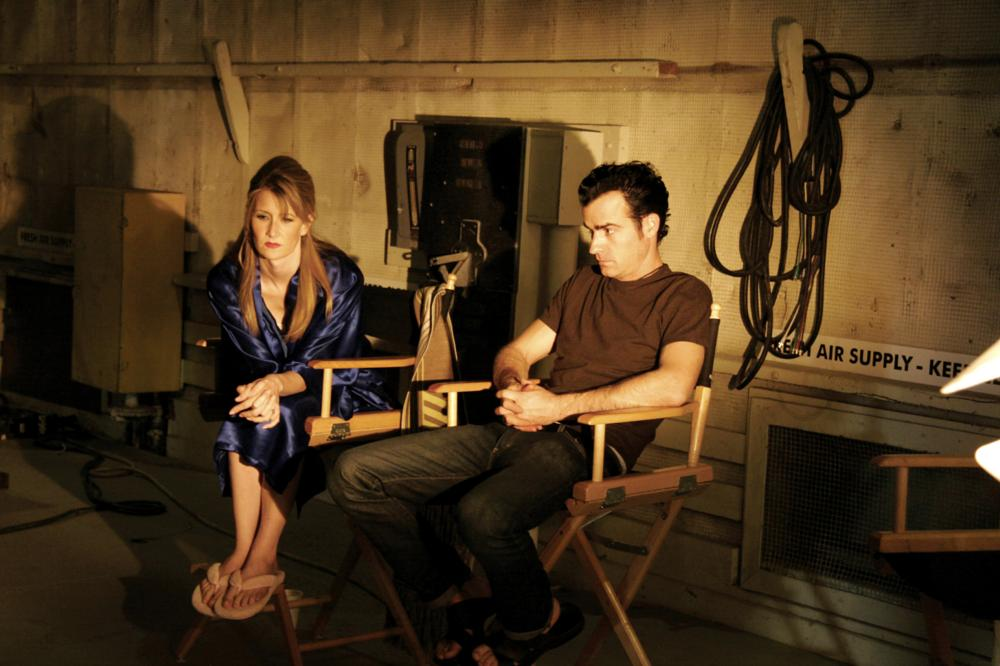 INLAND EMPIRE, Laura Dern, Justin Theroux, on set, 2006. ©Studio Canal