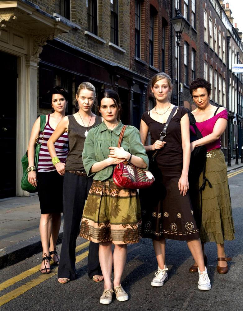 I REALLY HATE MY JOB, from left: Neve Campbell, Anna Maxwell Martin, Shirley Henderson, Alexandra Maria Lara, Oana Pellea, 2007. ©Barnholtz Entertainment
