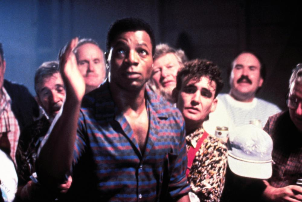 HURRICANE SMITH, Carl Weathers (front), 1992, © Warner Brothers