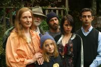 HUMBOLDT COUNTY, from left: Frances Conroy, Brad Dourif, Madison Davenport (foreground wearing purple hat), Chris Messina, Fairuza Balk, Jeremy Strong, 2008. ©Magnolia Pictures