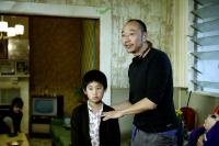 THE HOME SONG STORIES, John Lok, director Tony Ayres, on set, 2007.  ©Dendy Films