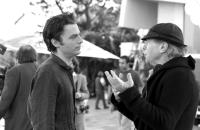 HOLLYWOOD DREAMS, Justin Kirk, director Henry Jaglom, on set, 2006. ©Rainbow Releasing