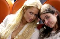 THE HOTTIE AND THE NOTTIE, Paris Hilton, Christine Lakin, 2008. ©Regent Entertainment