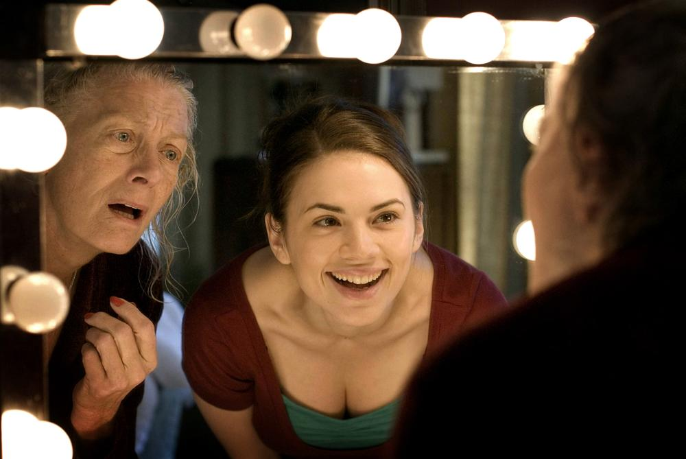 HOW ABOUT YOU, from left in mirror: Vanessa Redgrave, Hayley Atwell, 2007. ©Strand Releasing