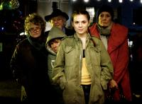HOW ABOUT YOU, from left: Brenda Fricker, Joss Ackland (top), Imelda Staunton (hood), Hayley Atwell, Vanessa Redgrave, 2007. ©Strand Releasing