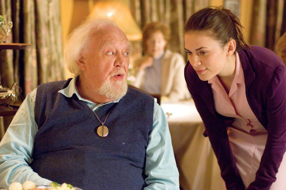 HOW ABOUT YOU, from left: Joss Ackland, Hayley Atwell, 2007. ©Strand Releasing