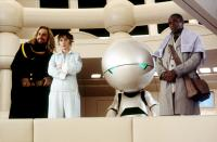 THE HITCHHIKER'S GUIDE TO THE GALAXY, Sam Rockwell, Zooey Deschanel, Mos Def, 2005, (c) Touchstone