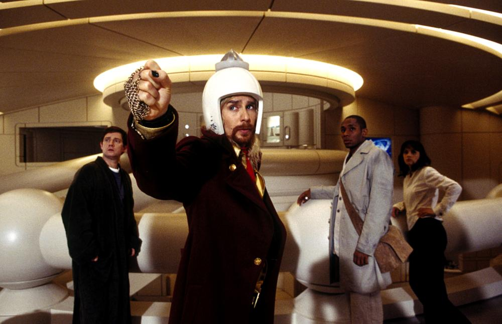 THE HITCHHIKER'S GUIDE TO THE GALAXY, Martin Freeman, Sam Rockwell, Mos Def, Zooey Deschanel, 2005, (c) Touchstone