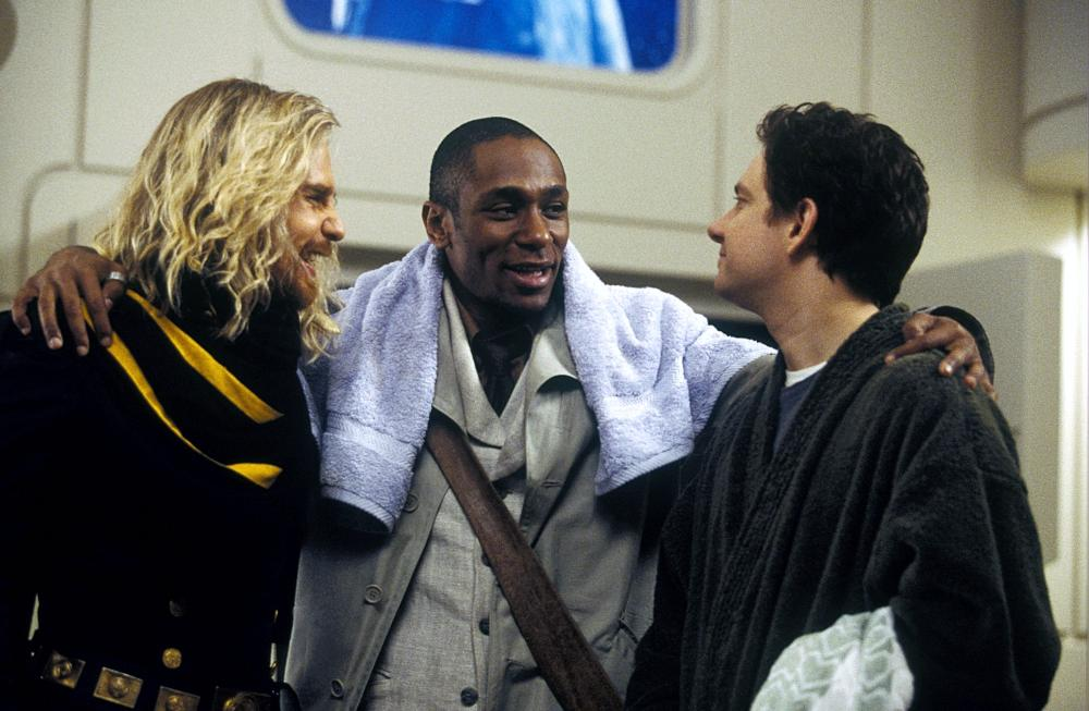 THE HITCHHIKER'S GUIDE TO THE GALAXY, Sam Rockwell, Mos Def, Martin Freeman, 2005, (c) Touchstone
