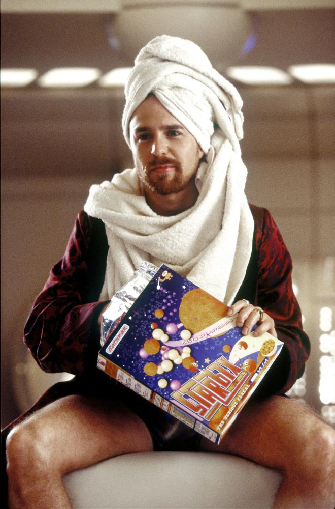 THE HITCHHIKER'S GUIDE TO THE GALAXY, Sam Rockwell, 2005, (c) Touchstone