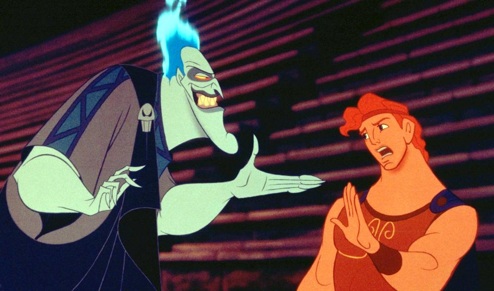 HERCULES, from left: Hades, Hercules, 1997, ©Walt Disney Pictures