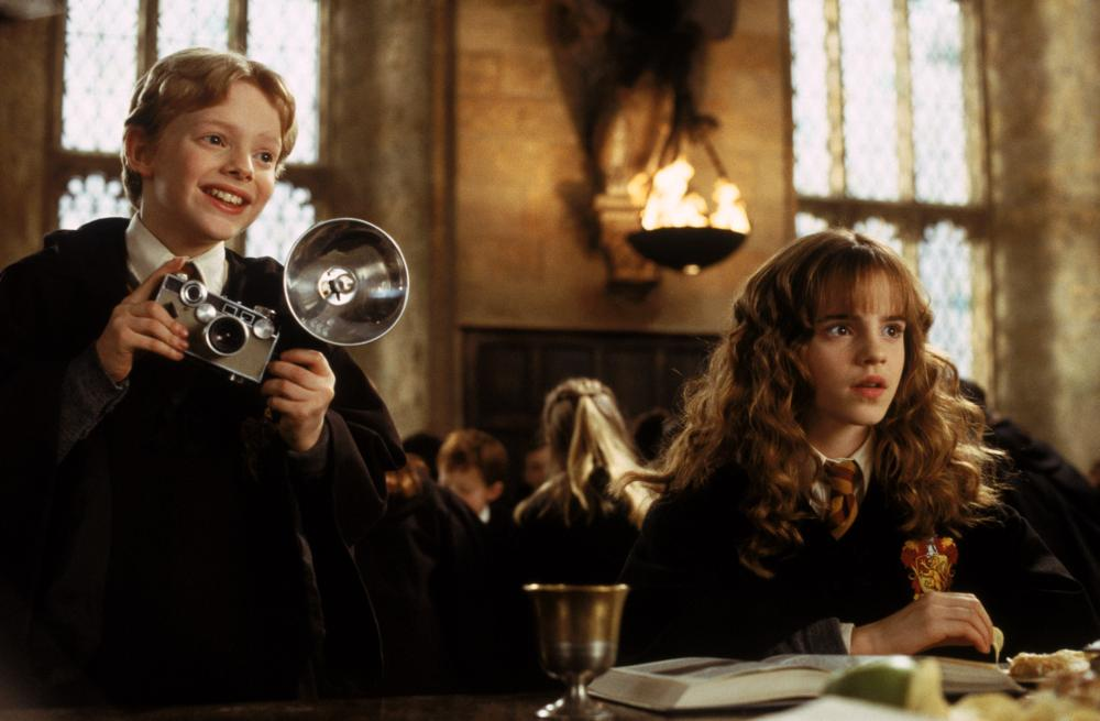 HARRY POTTER AND THE CHAMBER OF SECRETS Hugh Mitchell Emma Watson 2002
