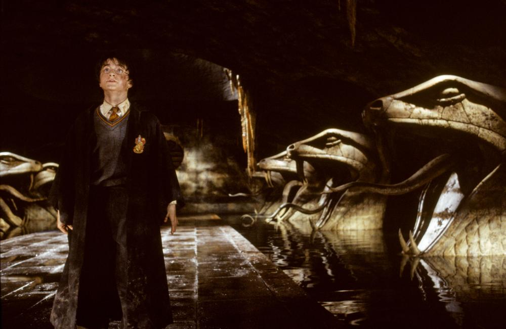 HARRY POTTER AND THE CHAMBER OF SECRETS, Daniel Radcliffe, 2002, (c) Warner Brothers