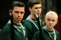HARRY POTTER AND THE CHAMBER OF SECRETS, Jamie Yeates, Scott Fearn, Tom Felton, 2002, (c) Warner Brothers