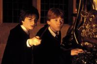 HARRY POTTER AND THE CHAMBER OF SECRETS, Daniel Radcliffe, Rupert Grint, 2002, (c) Warner Brothers