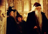HARRY POTTER AND THE CHAMBER OF SECRETS, Maggie Smith, Miriam Margolyes, Richard Harris, 2002, (c) Warner Brothers