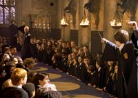 HARRY POTTER AND THE CHAMBER OF SECRETS, Alan Rickman, Tom Felton, Daniel Radcliffe, 2002, (c) Warner Brothers