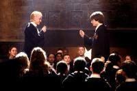 HARRY POTTER AND THE CHAMBER OF SECRETS, Tom Felton, Daniel Radcliffe, 2002, (c) Warner Brothers