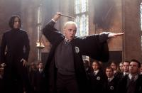 HARRY POTTER AND THE CHAMBER OF SECRETS, Alan Rickman, Tom Felton, 2002, (c) Warner Brothers