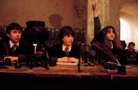 HARRY POTTER AND THE SORCERER'S STONE, Matthew Lewis, Daniel Radcliffe, Emma Watson, 2001, (c) Warner Brothers