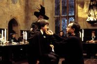 HARRY POTTER AND THE SORCERER'S STONE, Maggie Smith, Daniel Radcliffe, Chris Columbus, 2001, (c) Warner Brothers