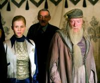 HARRY POTTER AND THE GOBLET OF FIRE, Clemence Poesy, Michael Gambon, 2005, (c) Warner Brothers
