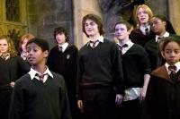 HARRY POTTER AND THE GOBLET OF FIRE, Emma Watson, Matthew Lewis, Daniel Radcliffe, Devon Murray, James Phelps, 2005, (c) Warner Brothers
