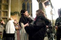 HARRY POTTER AND THE GOBLET OF FIRE, Katie Leung on set, 2005, (c) Warner Brothers /