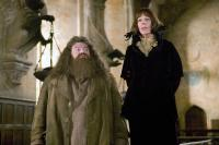 HARRY POTTER AND THE GOBLET OF FIRE, Robbie Coltrane, Frances de la Tour, 2005, (c) Warner Brothers /
