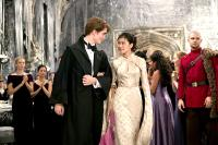 HARRY POTTER AND THE GOBLET OF FIRE, Robert Pattinson, Katie Leung, 2005, (c) Warner Brothers