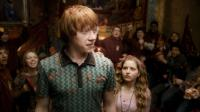 HARRY POTTER AND THE HALF-BLOOD PRINCE, Rupert Grint (front), Jessie Cave (front right), 2009. ©Warner Bros.