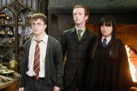 HARRY POTTER AND THE ORDER OF THE PHOENIX, from left: Daniel Radcliffe, Chris Rankin, Katie Leung, 2007. Ph: Murray Close/©Warner Bros.