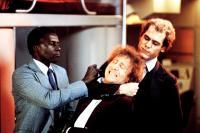 HANKY PANKY, Johnny Sekka, Gene Wilder, Jay O. Sanders, 1982, (c) Columbia