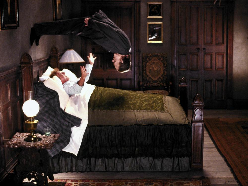 HAUNTED HONEYMOON, Gene Wilder (in bed), 1986, (c) MGM