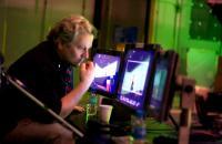 HAPPY FEET, director George Miller, on set, 2006. ©Warner Bros.