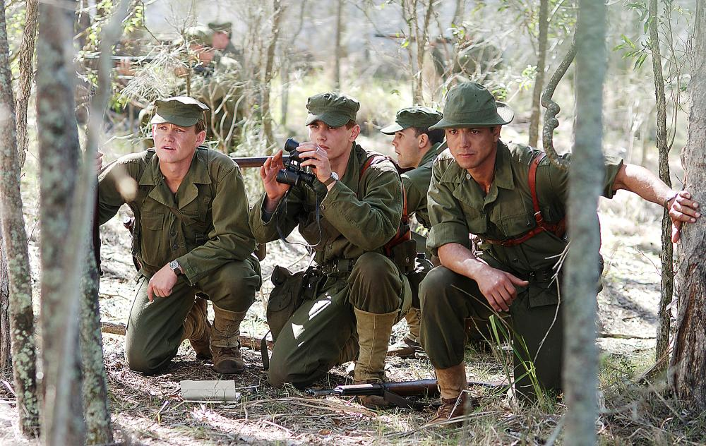 THE GREAT RAID, Freddie Jo Farnsworth, James Franco, Benjamin Bratt, 2005, (c) Miramax