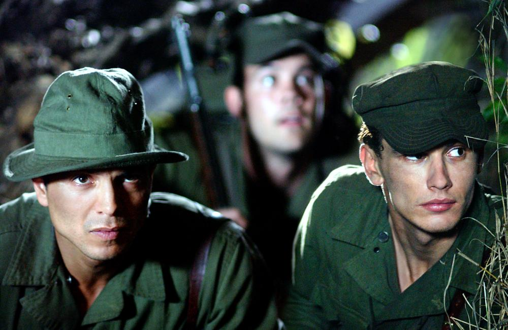 THE GREAT RAID, Benjamin Bratt, James Franco, 2005, (c) Miramax