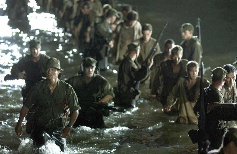 THE GREAT RAID, Benjamin Bratt, (far left), 2005, (c) Miramax